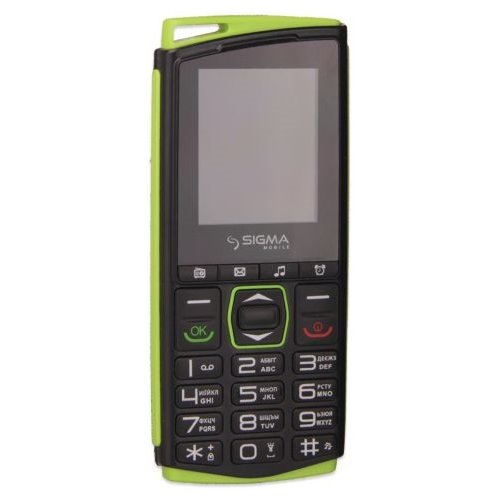 SIGMA MOBILE COMFORT 50 MINI 4 BLACK/GREEN
